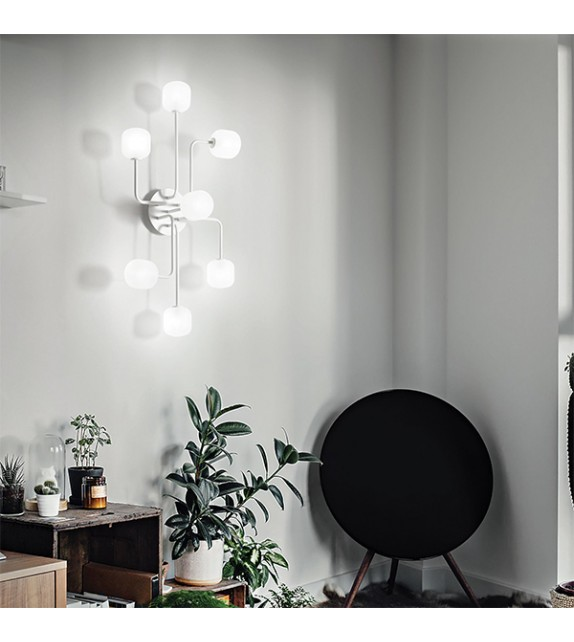 Lustra MALLOW PL7 174419 Ideal Lux, alb