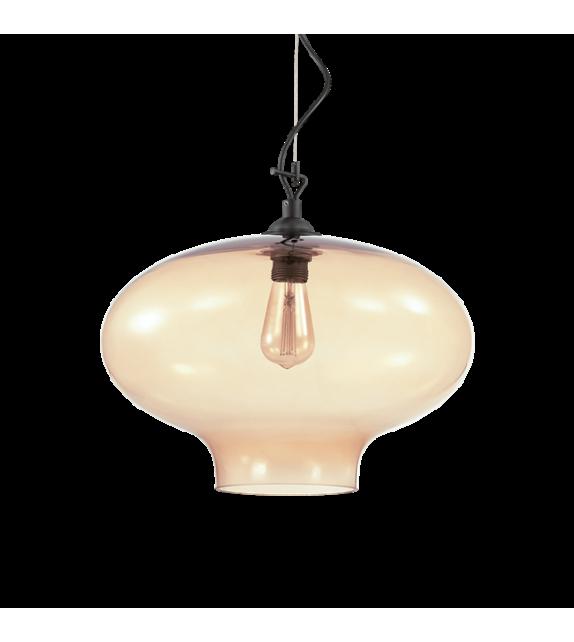 Pendul BISTRO SP1 ROUND 163772 Ideal Lux, chihlimbar