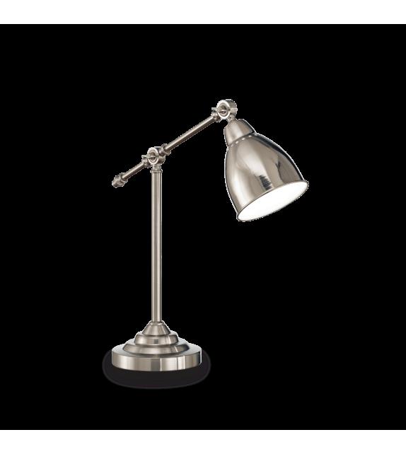 Lampa de birou NEWTON TL1 012209 Ideal Lux, nichel