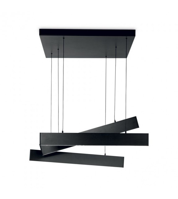 Lustra DESK SP3 231235 Ideal Lux, LED 50W, 3000lm, negru