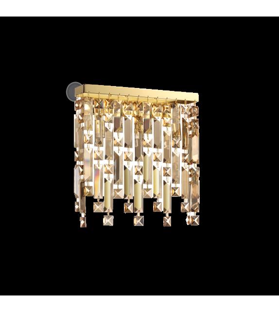 Aplica de perete ELISIR AP3 200057 Ideal Lux, gold