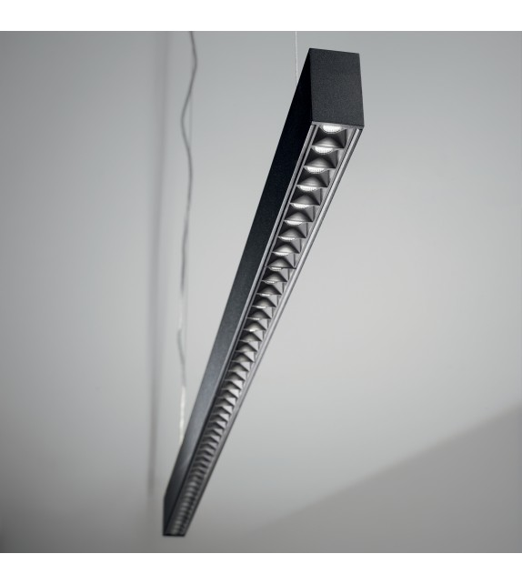 Sistem liniar DRAFT 222776 Ideal Lux, LED 47W, 3100lm, negru