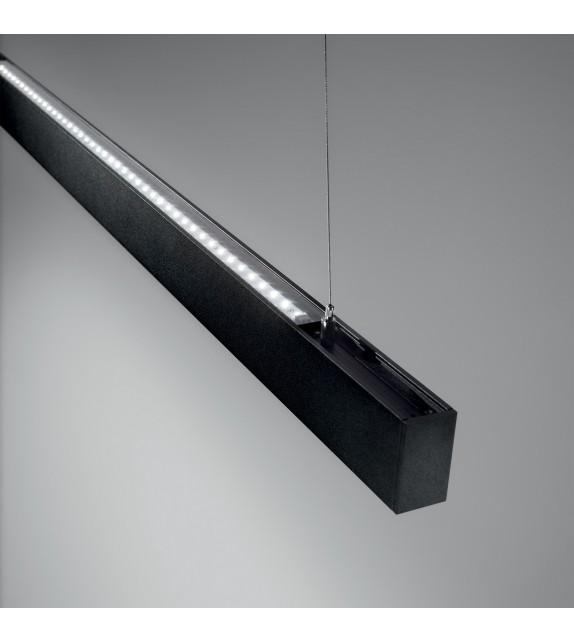 Sistem liniar DRAFT 222783 Ideal Lux, LED 47W, 3250lm, negru