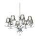 Candelabru EVENT SP8 115849 IDEAL LUX, E14, 8X40W, crom