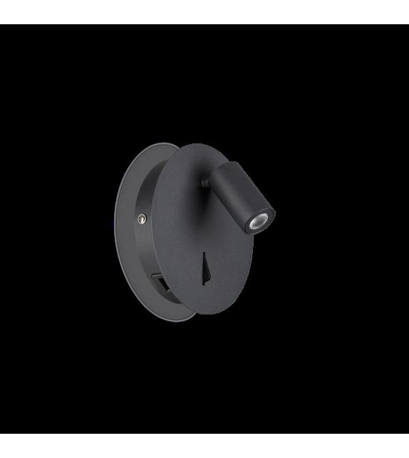 Aplica GEA AP1 239699 Ideal Lux, LED 3W, 130lm, negru