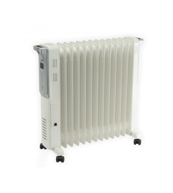 Calorifer electric cu ulei Home FKO 13, digital LCD, 13 elementi, 2500W