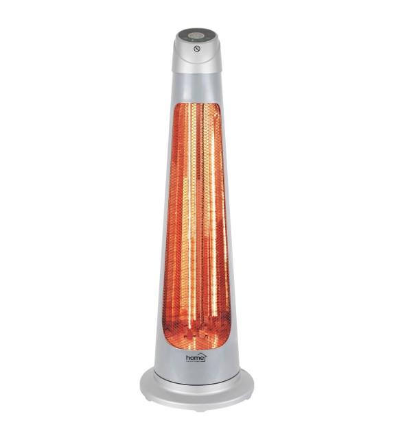 Radiator electric combo halogen - fibră de carbon Home FK 252, 1200W, cu telecomanda