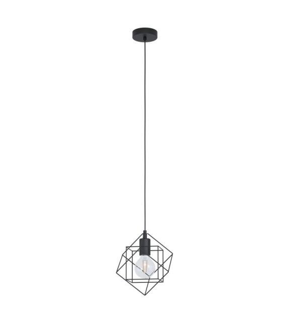 Pendul Straiton - 43358 Eglo, E27, 60W, negru