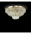 Plafoniera CAESAR PL6 114682 IDEAL LUX, auriu