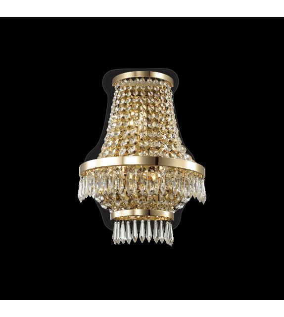 Aplica de perete CAESAR AP3 137704 IDEAL LUX, auriu