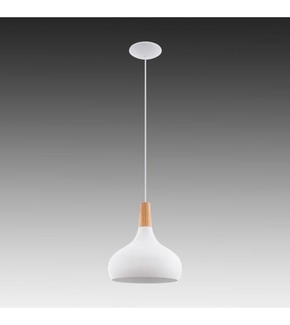 Pendul SABINAR - 96982 Eglo, E27, 1x60W, alb/maro