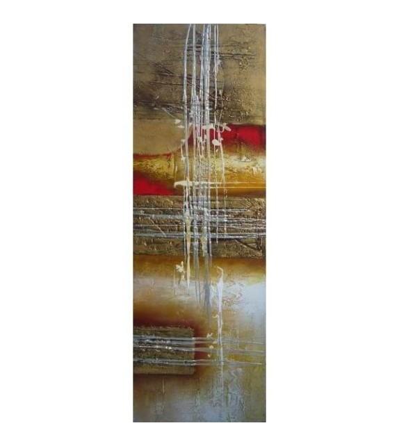 Tablou pictat manual Atemporal A, dimensiunea 120x40cm