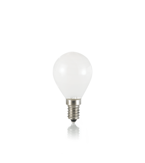 Bec LED E14 IDEAL LUX SFERA BIANCO 4000K, 4W 350lm, Ø45mm