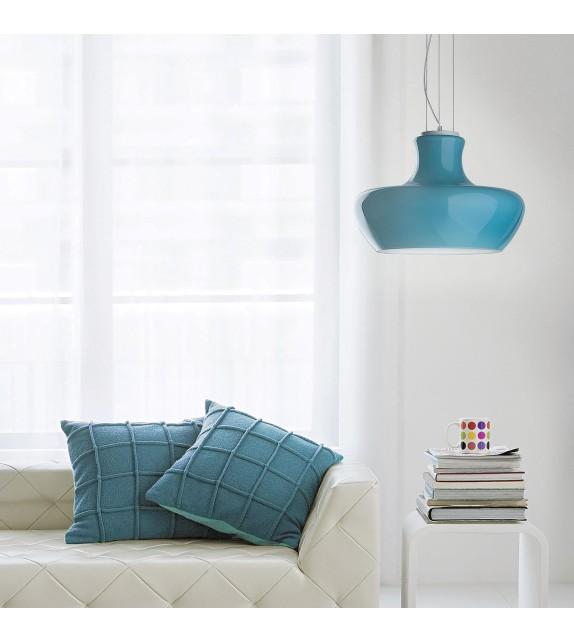 Pendul modern ALADINO SP1 D45 137261 Ideal Lux, albastru