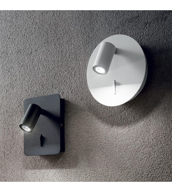 Aplica GEA AP1 239682 Ideal Lux, LED 3W, 130lm, alb