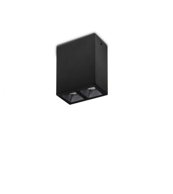 Spot aplicat LIKA 244860 Ideal Lux, LED 4W, negru