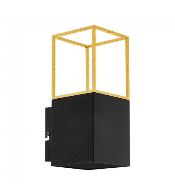 Aplica de perete MONTEBALDO 97735 Eglo, GU10 5W, negru-auriu