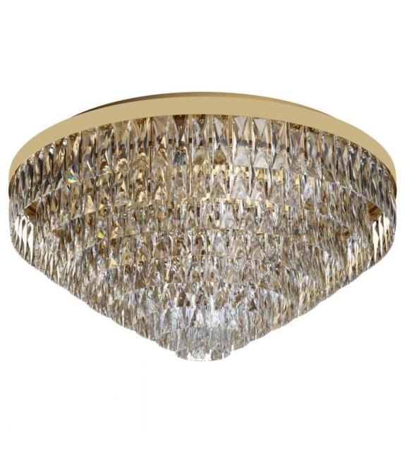 Plafoniera cu cristale VALPARAISO 39459 Eglo, E14 16X40W, gold