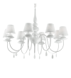 Candelabru BLANCHE SP8 035574 Ideal Lux, alb