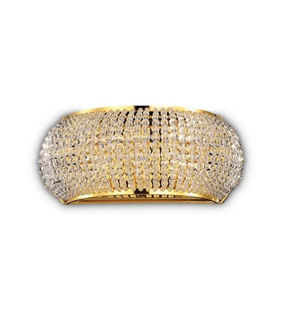 Aplica de perete PASHA' AP3 082288 Ideal Lux, gold