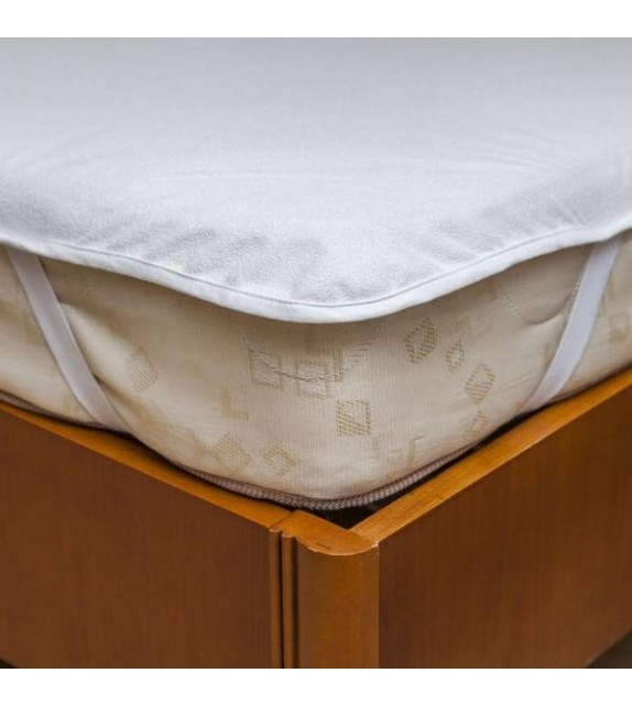 Protectie saltea Mendola bedding, 90x200cm, alb