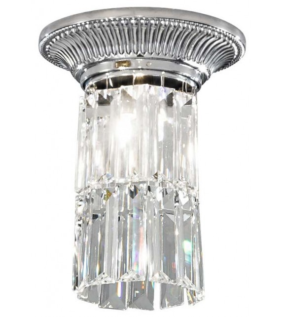 Plafoniera MILORD CRYSTAL - KOLARZ Pure Crystals, Crom, D16, H 20cm, 1 bec