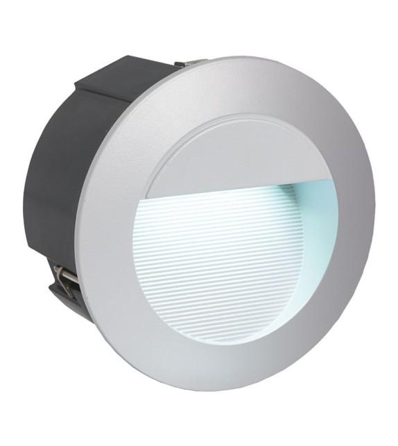 Spot incastrat de exterior pentru trepte ZIMBA LED - 95233 Eglo, LED 2.5W, argintiu