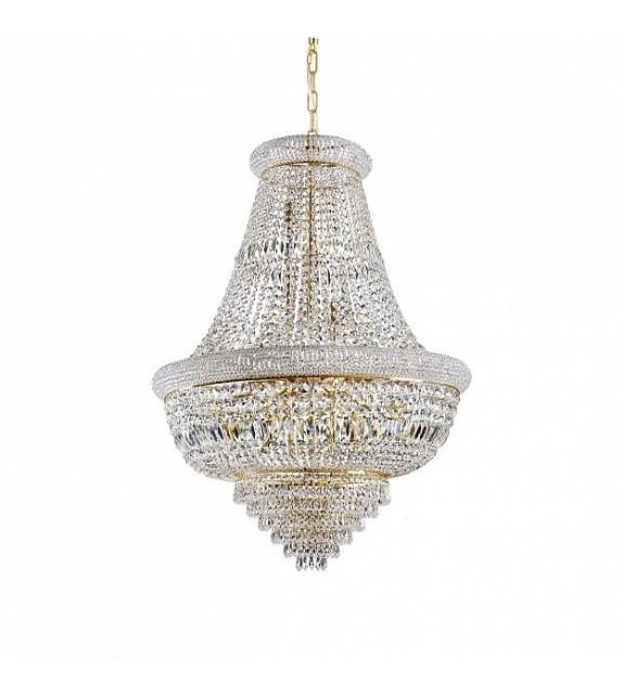 Candelabru cu cristale DUBAI SP24 243528 Ideal Lux, D80, gold