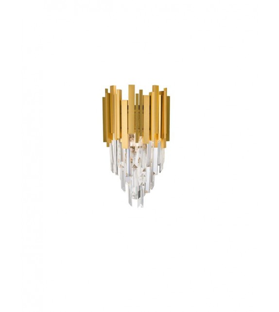 Aplica de perete GRANE 9050100, E14 2x5W, gold
