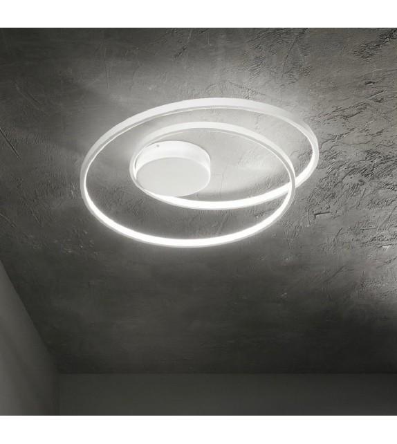Plafoniera OZ PL 253688 Ideal Lux, D60, LED 49W 5000lm 3000K, alb