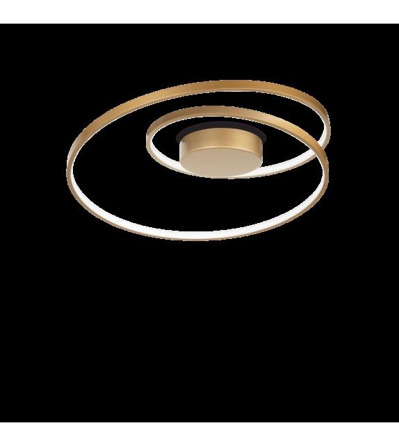 Plafoniera OZ PL 269429 Ideal Lux, D60, LED 49W 5000lm 3000K, auriu