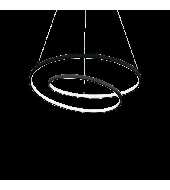 Lustra OZ SP D60 269436 Ideal Lux, LED 47W 5000lm 3000K, negru