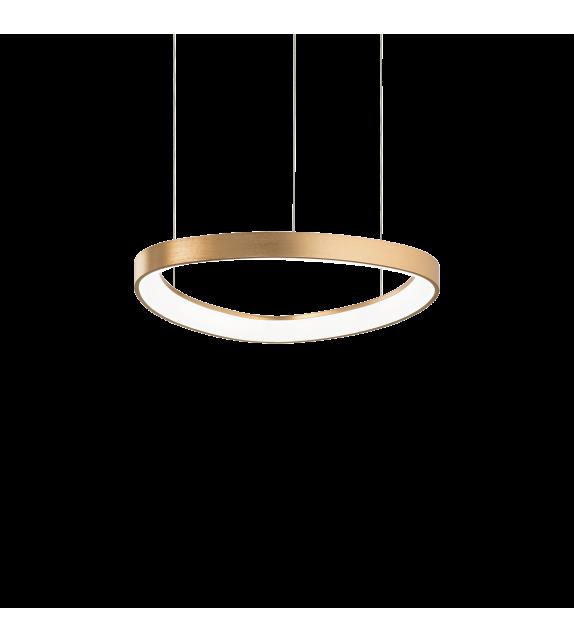 Lustra GEMINI SP D42 247243 Ideal Lux, LED 38W 3900lm 3000K, auriu