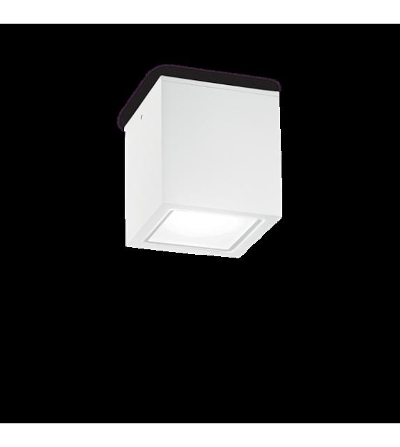Spot de exterior TECHO PL1 BIG 251523 Ideal Lux, alb