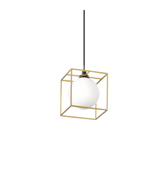 Pendul LINGOTTO SP1 251103 IDEAL LUX, negru-auriu