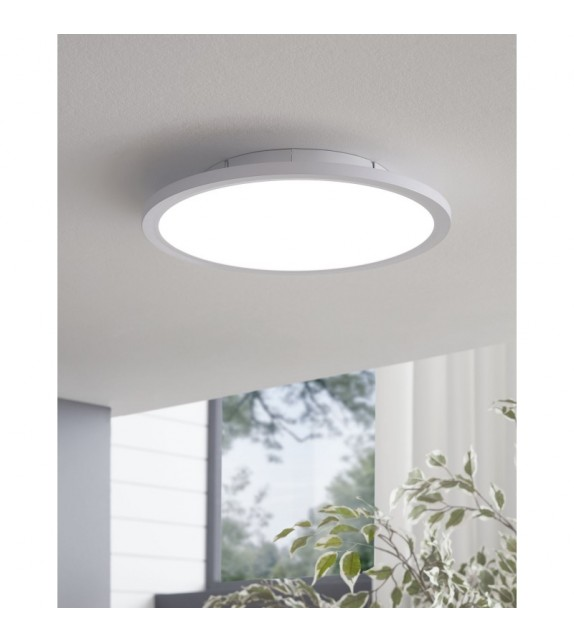 Plafoniera SARSINA 97501 Eglo, D30, LED 17W, 2200lm, 4000K, aluminiu, alb
