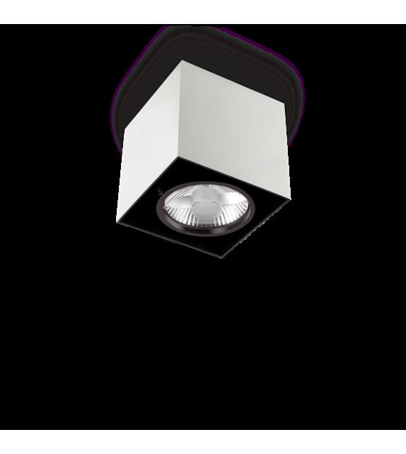 Spot patrat MOOD PL1 140933 Ideal Lux, L15, GU10, 1x50W, alb