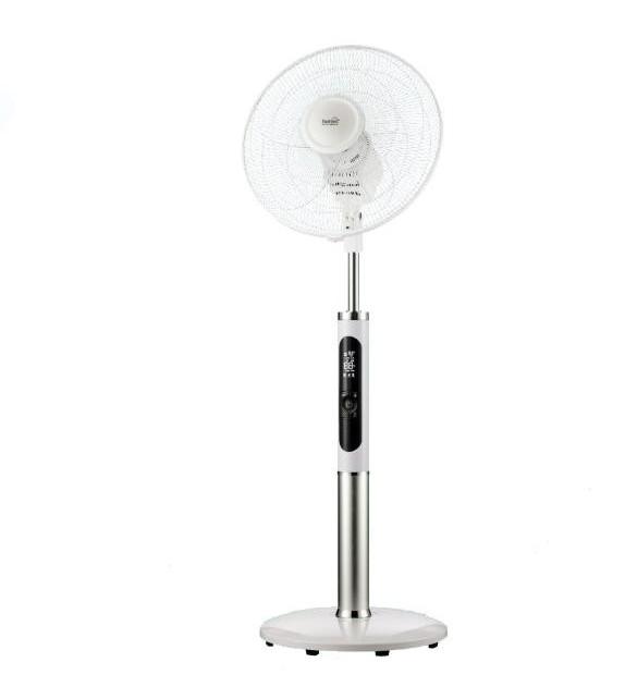 Ventilator cu picior Home SFR 40 3D, 3 trepte de ventilatie, 60W, cu telecomanda, alb