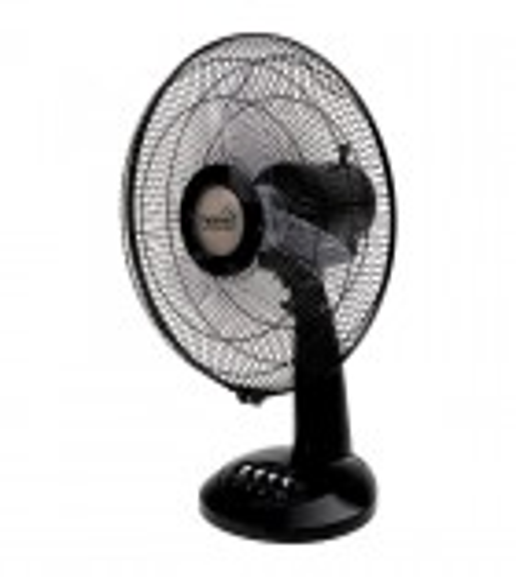 Ventilator de birou Home TF 32/BK, 3 trepte de ventilatie, 40W, negru