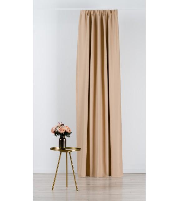 Material draperie Mendola decor Blackout, latime 280cm, bej