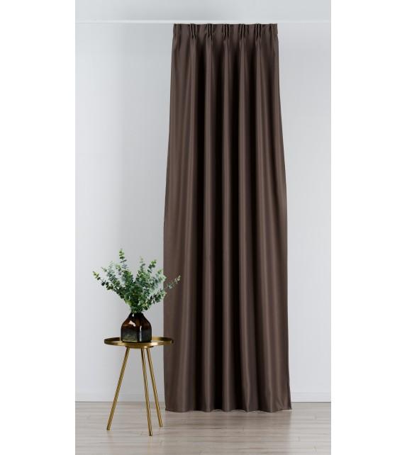 Material draperie Mendola decor Blackout, latime 280cm, maro