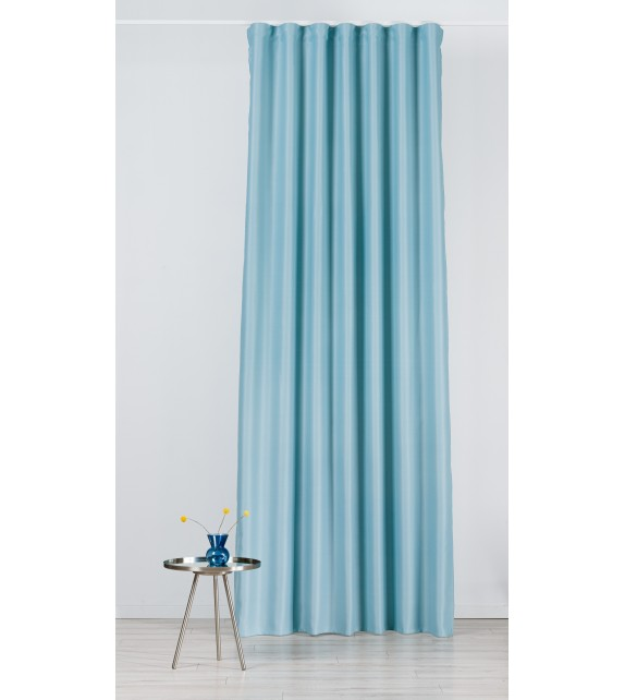 Material draperie Mendola decor Blackout, latime 280cm, turcoaz