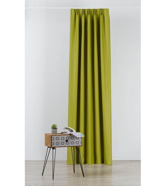 Material draperie Mendola decor Blackout, latime 280cm, verde