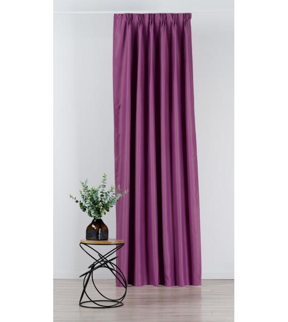 Material draperie Mendola decor Blackout, latime 280cm, mov