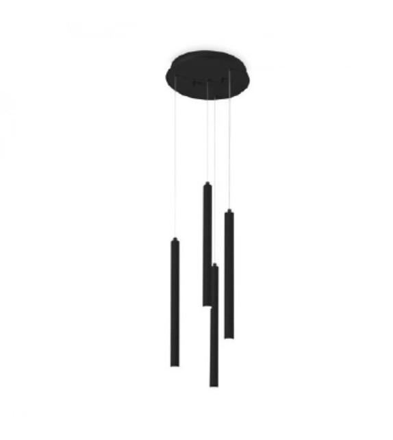 Lustra FROZEN SP4 233468 Ideal Lux, LED 8W 550lm 3000K, negru