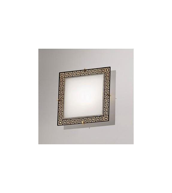 Plafoniera Celtic - Kolarz, 20x20cm, elemente Swarovski,