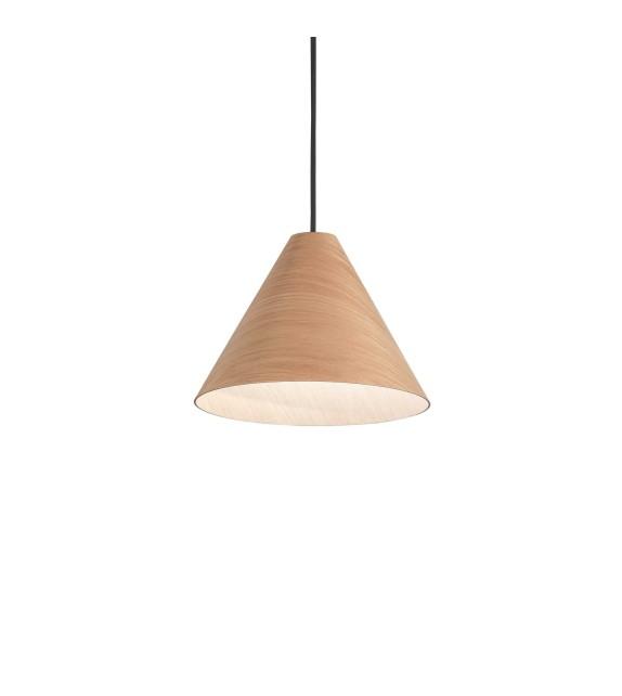 Pendul KAURI sp1, 271507 Ideal Lux, lemn deschis