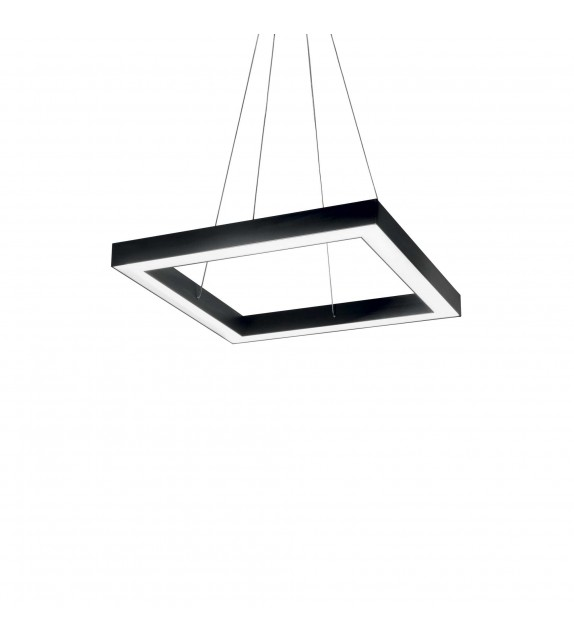 Lustra ORACLE Square D50, 245669 Ideal Lux, LED 35W, negru