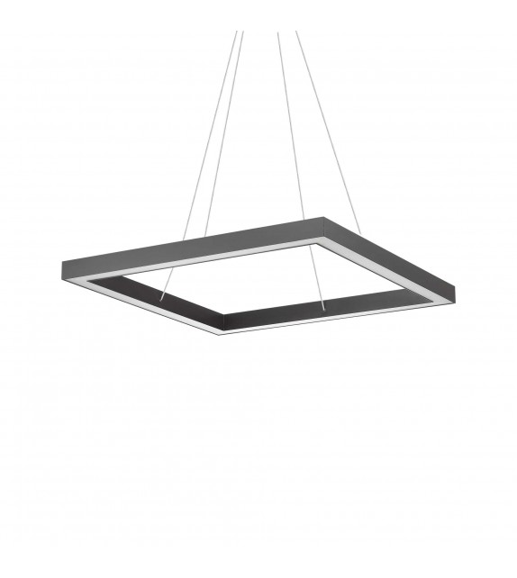 Lustra ORACLE Square D70, 245713 Ideal Lux, LED 43W, negru