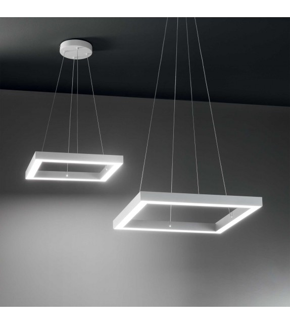 Lustra ORACLE Square D70, 245706 Ideal Lux, LED 43W, alb